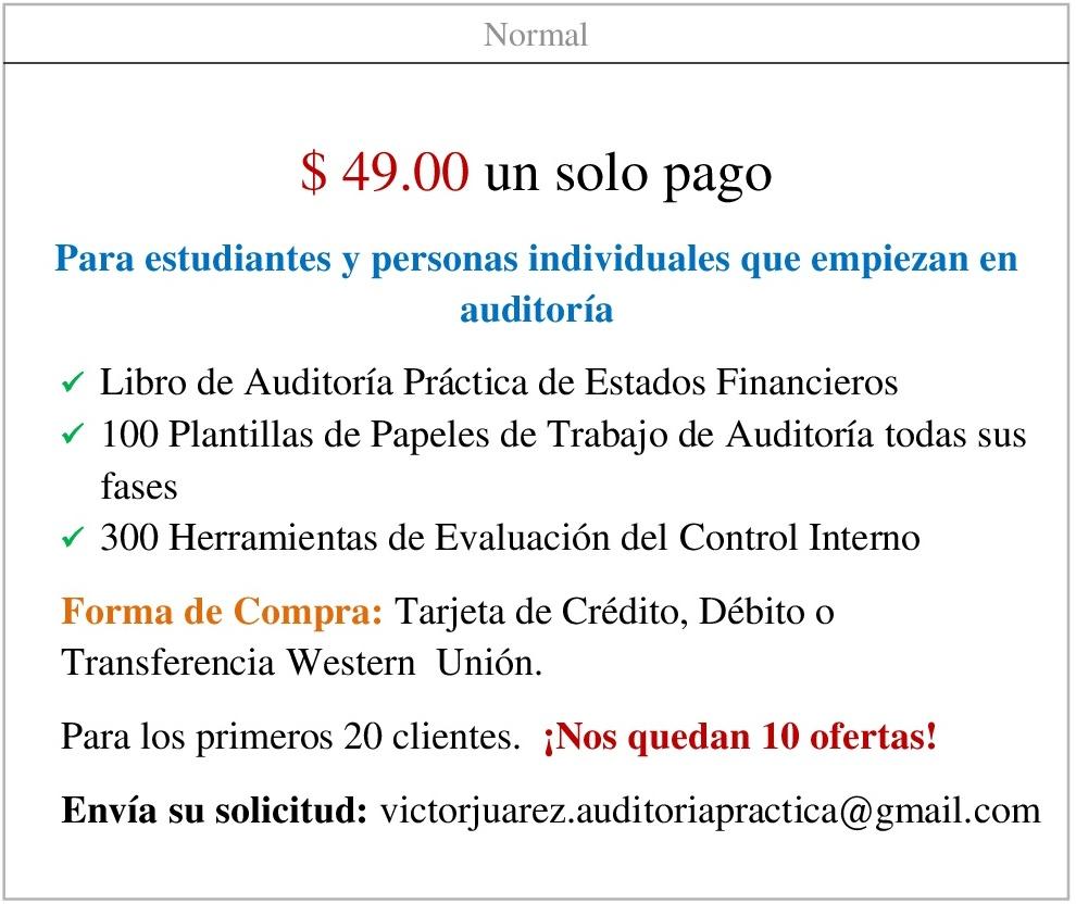 Auditoría Práctica – Plantillas